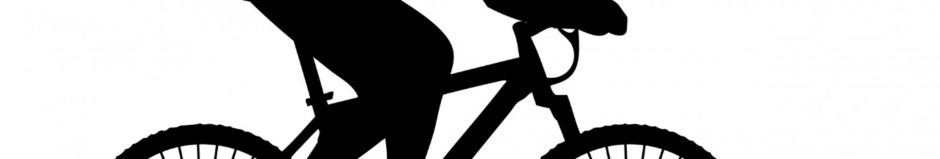 Cyclist Black Silhouette Clipart Free Stock Photo - Public ...